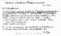Zasloužilý umělec Oldřich Šimáček - scénografie