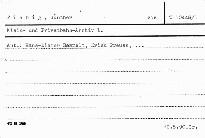 Klein- und Privatbahn-Archiv 1.