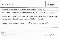 Sborník dokumentů k dějinám Pohraniční s