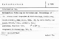 Interbiotech '89.