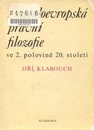 Západoevropská právní filozofie ve 2. polovině 20. století