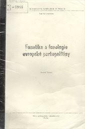 Fonetika a fonologie evropské portugalštiny