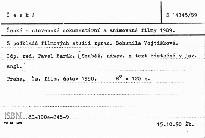 České a slovenské dokumentární a animované filmy 1989