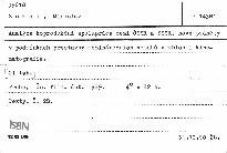 Analýza koprodukční spolupráce mezi ČSSR a SSSR, nové podněty v podmínkách přestavby mezinárodních vztahů v oblasti kinematografie
