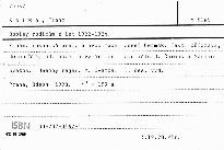 Dopisy rodičům z let 1922-1924