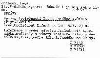 Zprávy Společnosti Leoše Janáčka 4