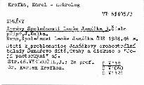 Zprávy Společnosti Leoše Janáčka 3.