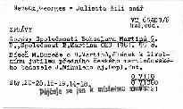 Zprávy Společnosti Bohuslava Martinů 6