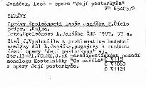 Zprávy Společnosti Leoše Janáčka 2