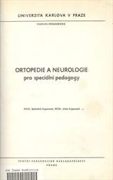 Ortopedie a neurologie pro speciální pedagogy