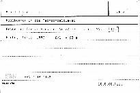 Willkommen in der Tschechoslowakei                         (Nr. 2/1990-Jhrg. 25)