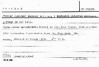 Přehled činnosti Městské knihovny a místních lidových knihoven v Praze za rok 1989