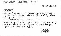 Hudební události v Československu 1991.