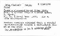 České a slovenské hrané filmy 1988