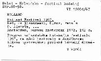 Holland Festival 1967