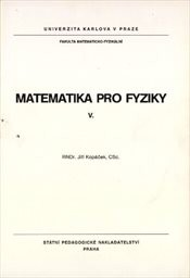 Matematika pro fyziky 5.