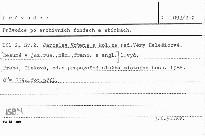 Průvodce po archivních fondech a sbírkách                         (Díl 2)
