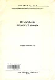 Sedmijazyčný biologický slovník
