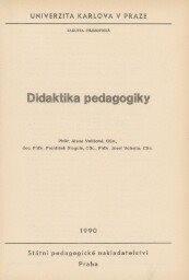Didaktika pedagogiky