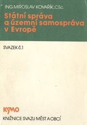 Státní správa a územní samospráva v Evropě