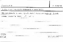 Zprávy o geologických výzkumech v roce 1986
