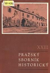 Pražský sborník historický 23