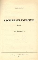 Lectures et exercices