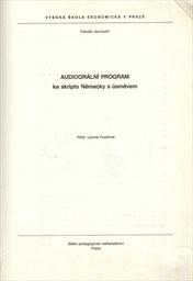 Audioorální program ke skriptu Německy s