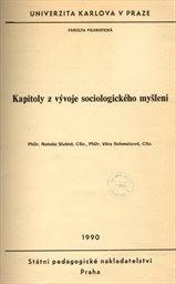 Kapitoly z vývoje sociologického myšlení