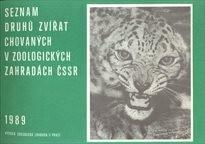 Seznam druhů zvířat chovaných v zoologických zahradách ČSSR