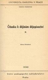 Čítanka k dějinám dějepisectví