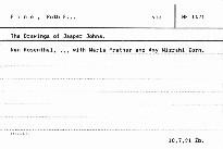 The Drawings of Jasper Johns