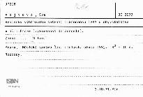 Výsledky výběrového šetření mikrocensu 1989 u obyvatelstva v hl.m. Praze - vybavenost domácností