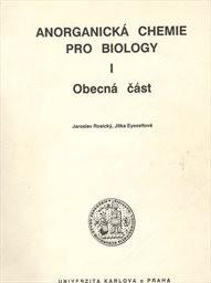 Anorganická chemie pro biology                         ([Díl] 1,)