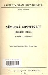 Německá konverzace                         (Sv. 1,)