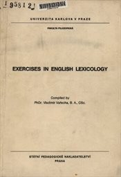 Exercises in English Lexicology