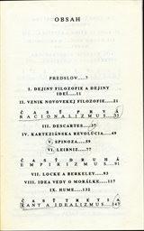 Krátké dejiny novovekej filozofie