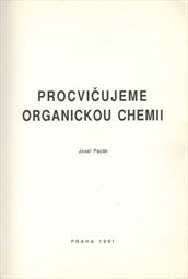 Procvičujeme organickou chemii