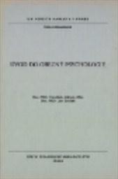 Úvod do obecné psychologie ;