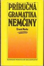 Príručná gramatika nemčiny.