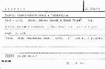 Sborník vlastivědných prací z Podblanicka                         (30-2/1990)