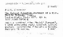 The Nureyev Valentino.