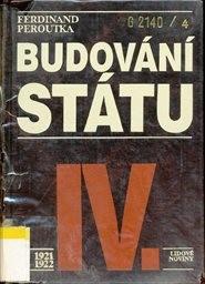 Budování státu                         ([Sv.] 4,)
