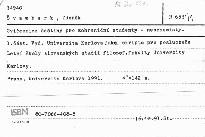 Cvičebnice češtiny pro zahraniční studenty - nebohemisty                         (Část 1)
