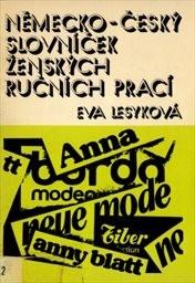 Německo-český slovníček ženských ručních prací