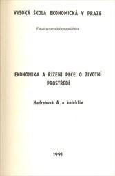 Ekonomika a řízení péče o životní prostředí