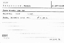 Česká divadla 1988-1989