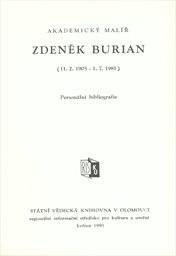 Akademický malíř Zdeněk Burián