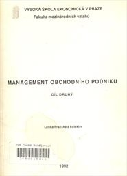 Management obchodního podniku