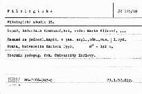 Filologické studie                         (18)
